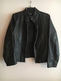 Black Leather Gap Jacket St Albert, T8N 0Z1