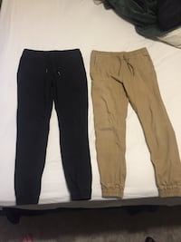 two black and brown pants Osler, S0K