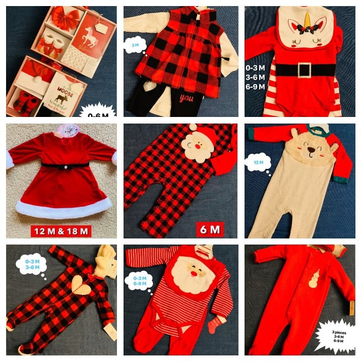Sale on baby Christmas clothes