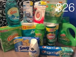 Cleaning, Toilet Tissue Laundry Gain Bundle