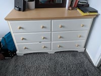 Chic Wooden Chest of drawers + side table TORONTO