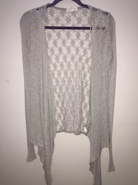 Women's grey cardigan Calgary, T3M 2E3