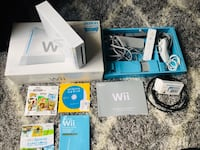 Nintendo Wii console sports and hdmi converter