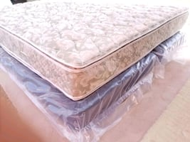 brand new king boxes+ mattress good condition, delivery 30$