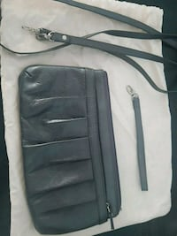 Danier grey leather clutch/small purse Burnaby, V3N 1R5