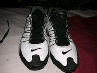 pair of black-and-white Nike basketball shoes Calgary, T2A 2H4