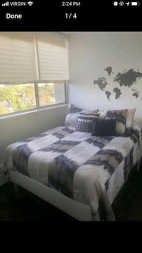 IKEA Full bed with base - last chance  Toronto