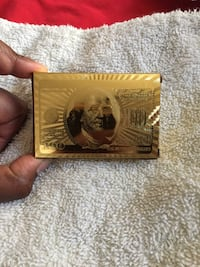 Limited addition 24kt Gold Ben Franklin playing cards Columbus, 43209