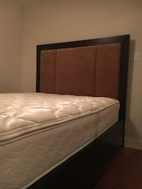 Queen Size Modern Storage Bed Frame with 6 Drawers (+ Includes Mattress) Matching Nightstands $200 EACH VANCOUVER