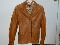 Leather coat butter soft 534 km
