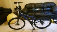 blue and black hardtail mountain bike Upper Marlboro, 20772