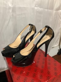 GUESS Black Synthetic size 5.5
