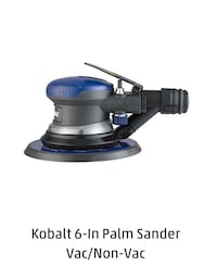 Kobalt 6 inch Palm Sander Reston, 20194