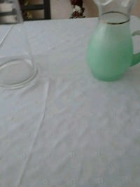 Green frosted beverage pitcher Middleburg, 20117