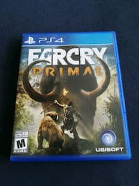 Farcry Primal PS4 game case Guelph, N1E 2V5