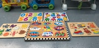 Toys, toddler puzzle bundle,includes melissa and  doug $15 for all Roseville, 95747