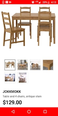 Ikea Table and chairs!!  College Park, 20740