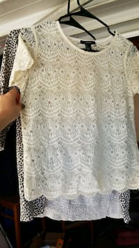 women's white floral lace dress Fresno, 93726