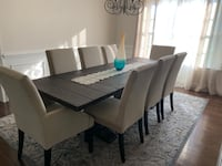 Restoration Hardware Dining Table with Chairs Aldie, 20105