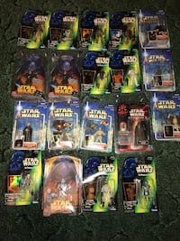 FOR SALE: 19 Star Wars Action Figures (Brand New & In Packages) Albuquerque, 87121
