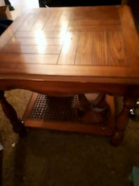 rectangular brown wooden coffee table Langley Township, V4W 3P6