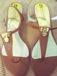 pair of brown-and-white sandals Port Orange, 32127