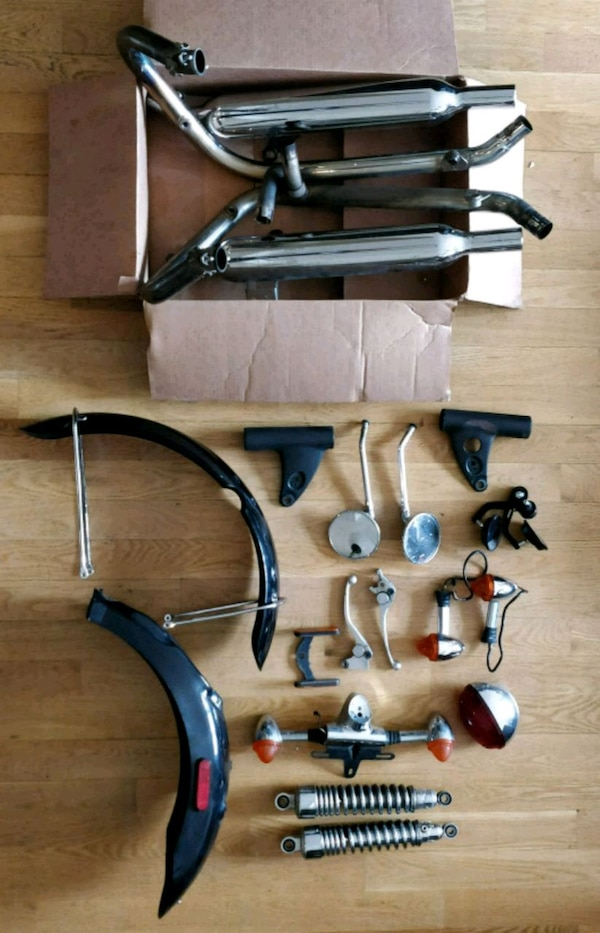 Used Triumph Bonneville T100 Oem Parts For Sale In Brooklyn Letgo