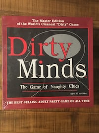 Board Game - Dirty Minds the game of naughty clues board game box McLean, 22102