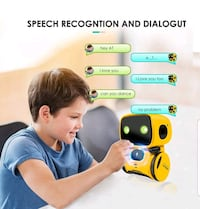 Smart robot toy that sings, dances, speaks and records Alexandria, 22304