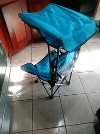 blue and black camping chair Jamaica, 11434