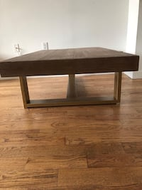 New Wood and Brass Coffee Table! 360 km