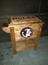 SEMINOLES (Wood Cooler)