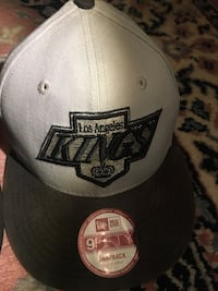 grå og svart Los Angeles Kings New Era 9fifty snapback cap Vennesla, 4700