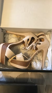 17b042d4a46 Used JustFab ultra cute fat heeled high heels for sale in Lompoc - letgo