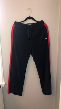 Navy and Red Fila Trackpants Size M Cambridge, N1R