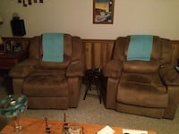 Two reclining chairs 25 mi