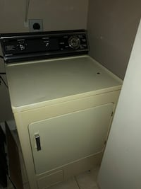 White front load clothes dryer Katy, 77449