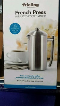 stainless steel Cuisinart coffee maker box Springfield, N0L 2J0