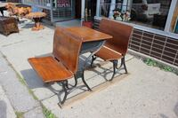 Antique School Desk $85 550 km