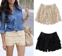 Knitted shorts blue,white and black Dorval, H9P 2A7