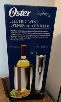 Oster Rechargeable Cordless Wine Opener Markham, L3T 3H7