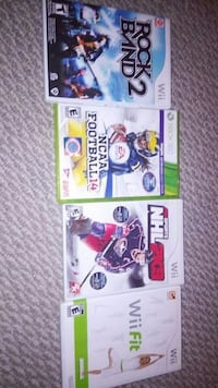 four assorted xbox games London, N5V 1L8