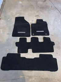 Carpeted floor mats for 2008 Toyota Highlander .