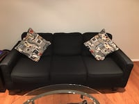 Serta black sofa/couch Falls Church, 22043