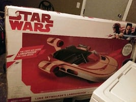 1st Ever Luke Skywalker Landspeeder PowerWheel