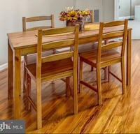 brown wooden dining table set Herndon, 20170