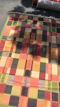 Red, green, and white plaid textile (PPU) Maple Grove, 55311