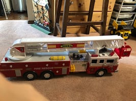 Toy fire engine truck!