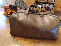 Leather duffel bag 29 km
