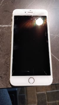 silver iPhone 6 with case TORONTO